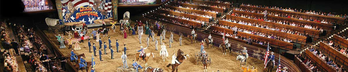 Dixie Stampede Packages in Branson, MO